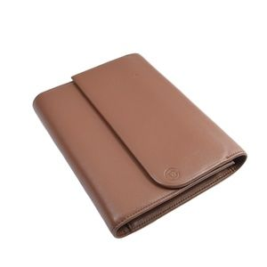DANIER Genuine Leather Double Flap Notebook